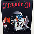 Megadeth printed backpatch bp540 - 30x35x25 cm patch