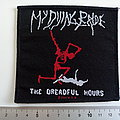 My Dying Bride dreadful hours official 2003 patch m156