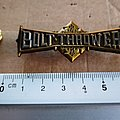 Bolt Thrower shaped pin badge n2 Other Collectable
