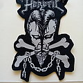 Heretic shaped big patch h136  size 10 x 15.5 cm