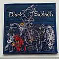 Black Sabbath - Patch - Black Sabbath live evil patch 79