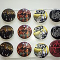 Ministry - Pin / Badge - various new buttons 3.1 cm   b47