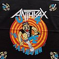 Anthrax - Other Collectable -  Anthrax bandana official 1988 merchandise size 53x53 cm
