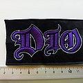 Dio purple logo patch 45
