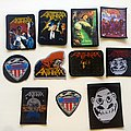 Anthrax various  80's & 90's patches