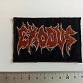 Exodus logo patch  used 611