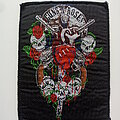 Guns N' Roses - Patch - Guns N' Roses official 1991 Heart patch  used700