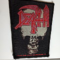 Death vintage 1993 patch used468   very rare