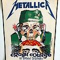 Metallica - Patch - Metallica  1987 crash course  backpatch bp521-- 31x26x37 cm patch