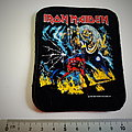 Iron Maiden number of the beast  patch 14 brandnew  8.5 x 10 cm