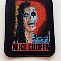 Alice Cooper - Patch - Alice Cooper  official 1989 Trash patch c28