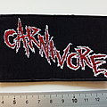 Carnivore - Patch - Carnivore  logo patch c164