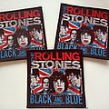 The Rolling Stones - Patch -  The Rolling Stones black and blue off. patch 46-- 10x10 cm
