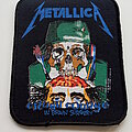 Metallica - Patch - Metallica 1987 Crash Course in Brain Surgery patch 319 --- 8x10 cm