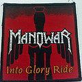 Manowar - Patch - Manowar  into glory ride  1983 patch m390