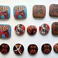 AC/DC - Pin / Badge - AC/DC  various old buttons