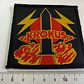 Krokus vintage 80's patch k48