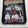 Saxon - Patch - Saxon crusader 1984 patch   s43