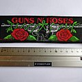 Guns N' Roses - Patch - Guns N' Roses strip patch 66  size 5 x 19. cm