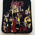 Slayer - Patch - Slayer   1987  Reign In Blood patch 31 yellow background