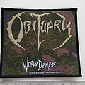 Obituary - Patch - Obituary  World Demise  official 1994 patch o124