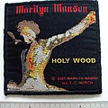 Marilyn Manson - Patch - Marilyn Manson official Holly Wood 2001 patch used726
