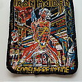 Iron Maiden - Patch - Iron Maiden official 1986 Somewhere In Time patch 200-8x10 cm