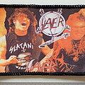 Slayer - Patch - Slayer old printed   patch 132