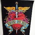 Bon Jovi official 1989 vintage backpatch bp283