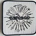 Carcass - Patch - Carcass surgical steel patch c262 -- 9x9 cm