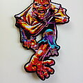 Iron Maiden - Patch - Iron Maiden   ltd. edition shaped patch 330