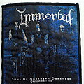 Immortal - Patch - Immortal  official 2003 sons of northern darknesspatch used741-  --9X10 cm