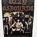 Ozzy Osbourne 1989 no rest for the wicked backpatch official patch