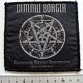 Dimmu Borgir - Patch - Dimmu Borgir Puritanical Euphoric off. 2001 patch used725