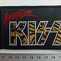 Kiss vintage and rare Animalize patch 86