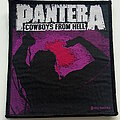 Pantera - Patch - PANTERA 1992 cowboys from  hell  patch p110 new12x10 cm