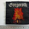 Gorgoroth - Patch - Gorgoroth    burning church  patch used412