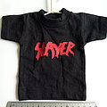 Slayer mini t shirt for in car. size 16 x 20 cm
