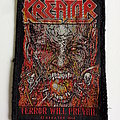 Kreator terror will prevail 2014 patch used670