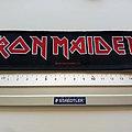Iron Maiden  strip patch 3  size 5.x 19.5 cm