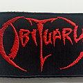 Obituary - Patch - Obituary logo patch o121--6.5 x 10 cm