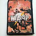 W.A.S.P. - Patch - W.A.S.P.  old  80's  tour patch w32 wasp