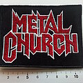 Metal Church - Patch - Metal Church patch 822 used