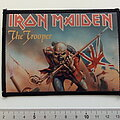 Iron Maiden - Patch - Iron Maiden  the trooper 1983 patch 254 glossy photo print