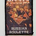Accept - Patch - Accept russian roulette 80's patch a297  -- 8x11 cm