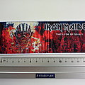Iron Maiden the book of souls -limited edition strip patch 273 -- 6X19CM