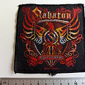 Sabaton - Patch - Sabaton coat of arms patch 2010  used676
