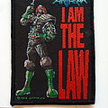 Anthrax i am the law patch a29