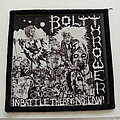 Bolt Thrower - Patch - Bolt Thrower in battle there is no law patch b355