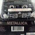 Metallica - Tape / Vinyl / CD / Recording etc - Metallica official full promo mc black album cassette 1991